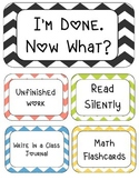 I'm Done. Now What? Chevron