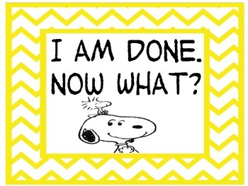 I'm Done Now What- Snoopy