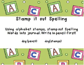 I'm Done! Now What!?! Word work activities