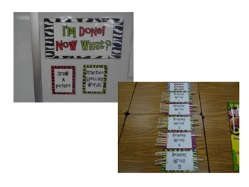 Guided Reading & Math Group Chart