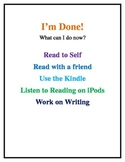 I'm Done Poster