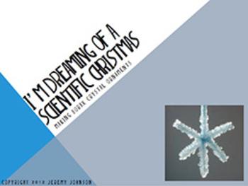 I'm Dreaming of a Scientific Christmas: Making Borax Crystal Christmas Ornaments