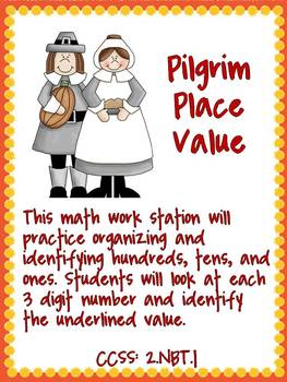 I'm Feeling Thankful! Math Activities (CCSS Aligned w/2nd Grade)