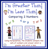 Comparing Numbers - Greater Than, Less Than