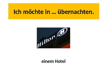 Im Hotel / Accommodation / Urlaub / On vacation