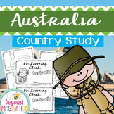 Australia Country Study | 48 Pages for Differentiated Lear
