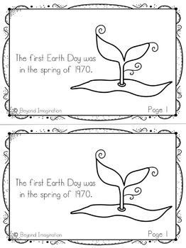 Earth Day Printable Booklet | 44 Pages for Differentiated Learning + Bonus Pages
