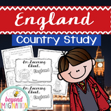 England Country Study | 48 Pages for Differentiated Learni