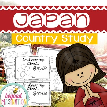 Japan Country Study | 48 Pages for Differentiated Learning + Bonus Pages