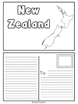 New Zealand Country Study | 48 Pages for Differentiated Learning + Bonus Pages