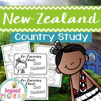 New Zealand Country Study   48 Pages for Differentiated Le