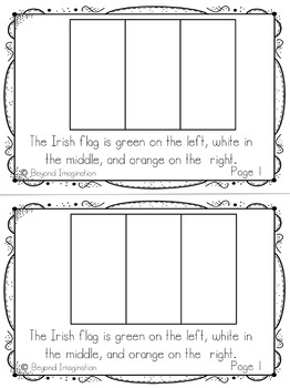 Saint Patrick's Day Booklet   44 Pages for Differentiated Learning +Bonus Pages