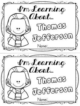 Thomas Jefferson Study | 44 Pages for Differentiated Learning + Bonus Pages