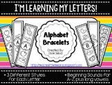 I'm Learning My Letters! {Alphabet Bracelets}