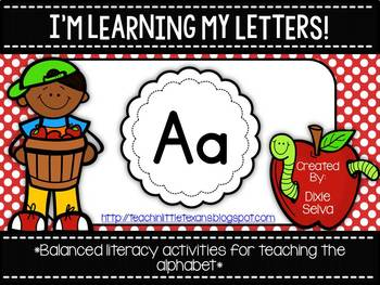 I'm Learning My Letters! {Unit A}