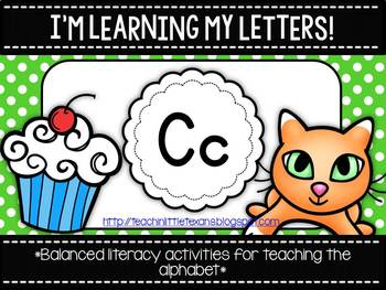 I'm Learning My Letters! {Unit C}