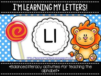 I'm Learning My Letters! {Unit L}