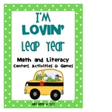 I'm Lovin' Leap Year Math and Literacy Activities