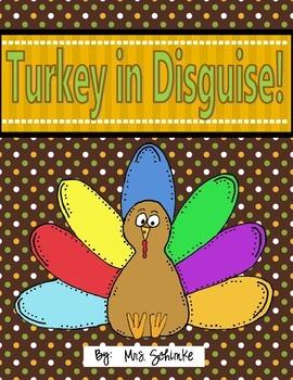 Turkey in Disguise (2 Different Ways) Freebie
