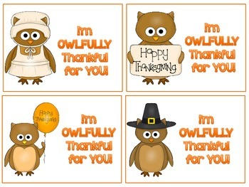 Free Thanksgiving Gift Tags