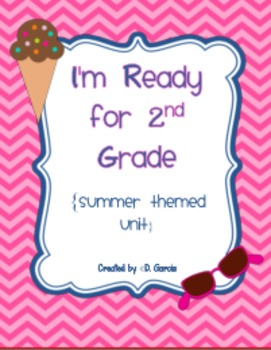 I'm Ready for 2nd Grade {summer themed unit/printables}