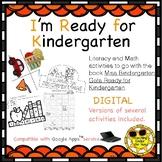 Back to School Activity Story Retelling Digital Miss Bindergarten