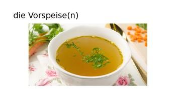 Im Restaurant / Essen und Trinken / At the restaurant / Food and drink