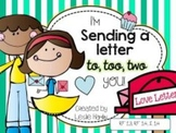 I'm Sending a Letter to, too, two YOU!! A homophone activity