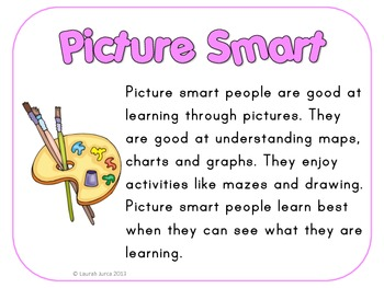 I'm Smart!: Multiple Intelligences Discovery Activity for Back to School