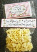 """""""I'm So Glad You Popped Into My Class"""" Popcorn Treat Labels"""