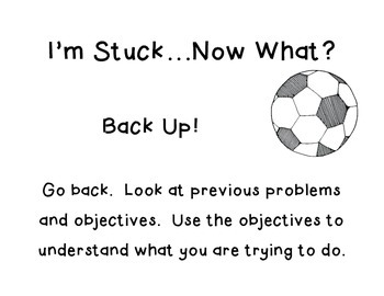 I'm Stuck…Now What?