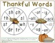 I'm Thankful For... Common Core Literacy Games