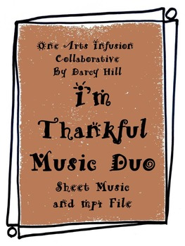 I'm Thankful: Thanksgiving Music Duo
