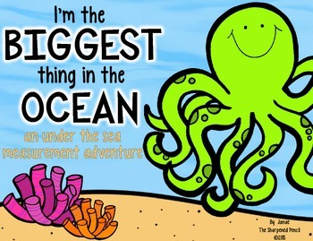 I'm The Biggest Thing In The Ocean {measuring inches and centimeters}