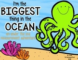 I'm The Biggest Thing In The Ocean {math measurement - inches and centimeters}