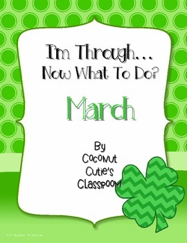 I'm Through...Now What to Do? {March}