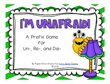 I'm Unafraid! A Prefix Game for un-, re-, and dis-