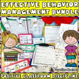 Effective Behavior Management Bundle: Classroom Printables