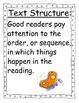 I'm a Caterpillar Focus Wall Posters 1st Grade Reading Str