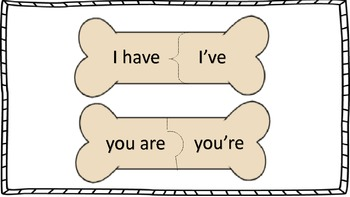 I'm a Contraction ~ Puzzle