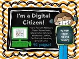 I'm a Digital Citizen! Digital Citizenship Poster Pack wit