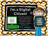 I'm a Digital Citizen! Digital Citizenship Poster Pack wit