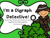 I'm a Digraph Detective!--Centers & Games for ch, sh, th, and wh (K-2)