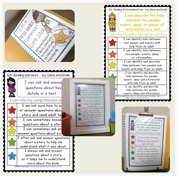 I'm a First Grade Common Core Star ELA Rubrics inc. license for 11+ users