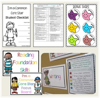 I'm a First Grade Common Core Star ELA Rubrics inc. license for up to 5 users