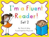 I'm a Fluent Reader! Set 2 Fluency Sentences and Activity Sheets