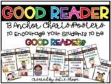 """I'm a GOOD READER because..."" Poster Set"