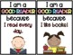 """I'm a GOOD READER because..."" Poster Set"