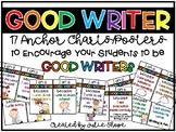 """I'm a GOOD WRITER because..."" Poster Set"