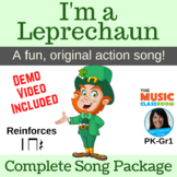 "St. Patrick's Day Song | ""I'm a Leprechaun"" Action Song 